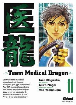 couverture, jaquette Team Medical Dragon 11  (Glénat Manga)