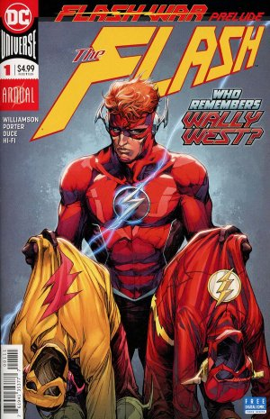 Flash # 1 Issues V5 - Annuals (2018 - Ongoing)