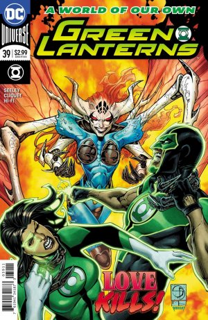 Green Lanterns # 39 Issues V1 (2016 - Ongoing)