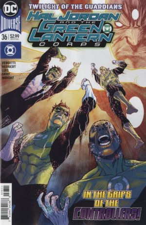 Green Lantern Rebirth # 36 Issues (2016-2018)