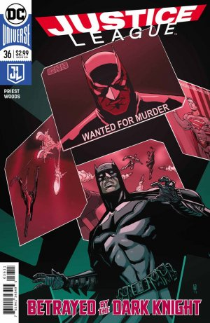 Justice League # 36