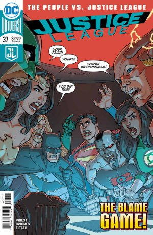 Justice League # 37