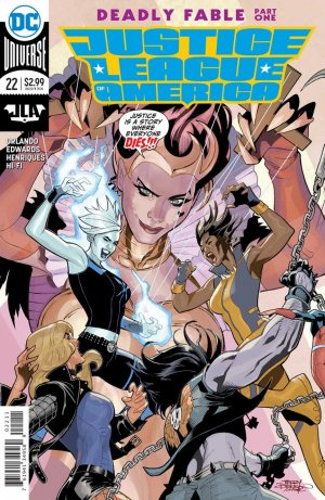 Justice League Of America # 22 Issues V6 (2017 - 2018)