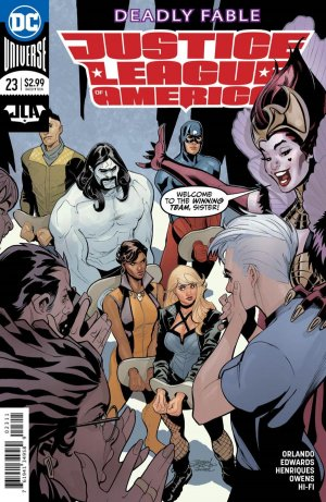 Justice League Of America # 23 Issues V6 (2017 - 2018)