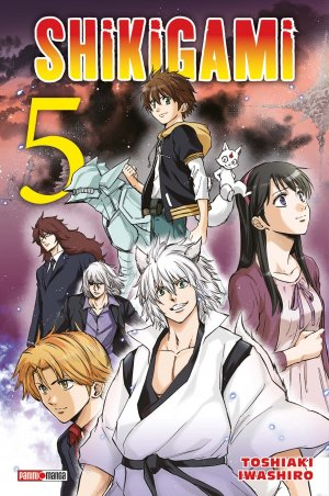 couverture, jaquette Shikigami 5  (Panini manga)