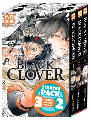 Black Clover édition Starter pack