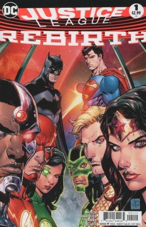 Justice League Rebirth # 1