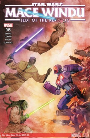 Star Wars - Jedi of the Republic - Mace Windu # 5 Issues (2017)