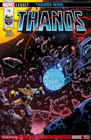 Thanos # 14 Issues V2 (2016 - 2018)