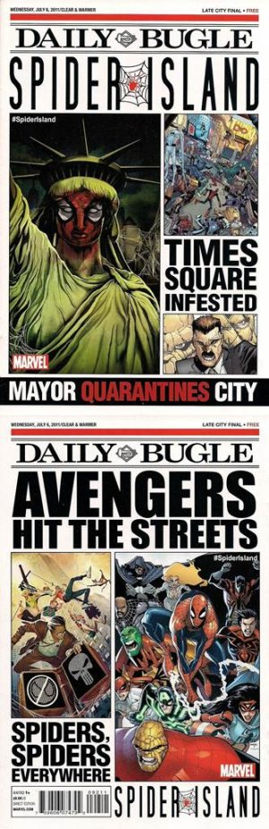 Spider Island Daily Bugle édition Issue (2011)