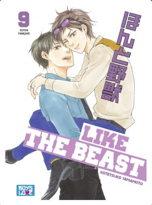 couverture, jaquette Like the Beast 9  (IDP)