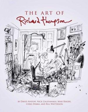 Tout l'Art de Richard Thompson édition TPB hardcover (cartonnée)