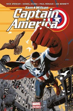 Sam Wilson - Captain America édition TPB Hardcover - Marvel Now!