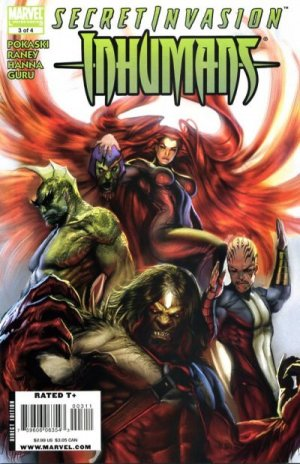 Secret Invasion - Inhumans # 3 Issues