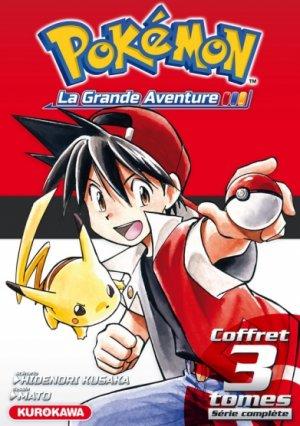 Pokémon édition La grande aventure - coffret