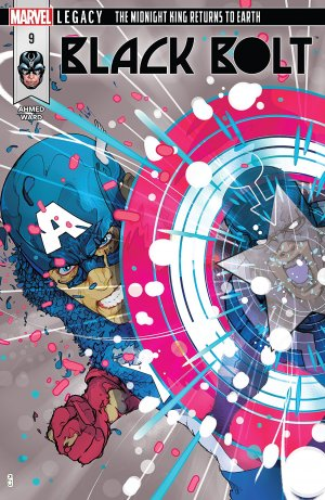 Black Bolt # 9 Issues (2017 - 2018)