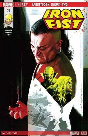 Iron Fist # 76 Issues V5 (2017 - 2018)