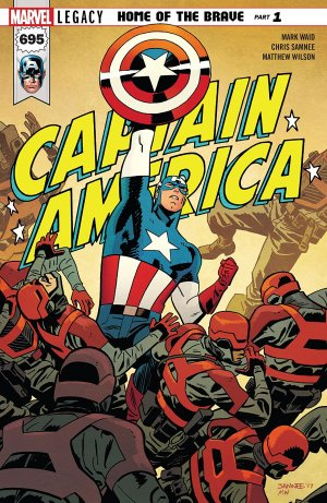 Captain America # 695 Issues V1 Suite (2017 - 2018)