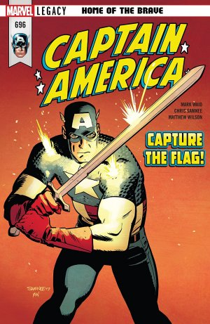 Captain America # 696 Issues V1 Suite (2017 - 2018)