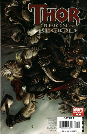 Thor - Reign of Blood édition Issue (2008)