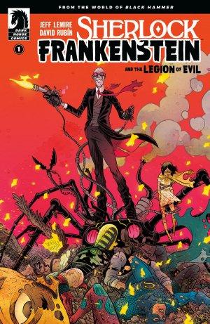 Black Hammer Présente - Sherlock Frankenstein Et La Ligue du Mal édition Issues (2017 - 2018)
