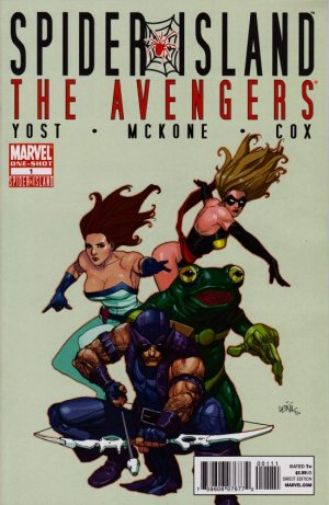 Spider-Island - The Avengers édition Issue (2011)