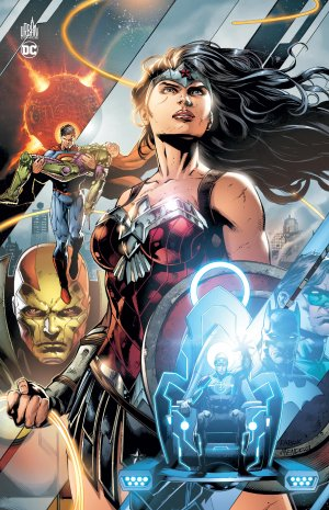 Justice League - The Darkseid War édition TPB Hardcover - edition anniversaire 5ans