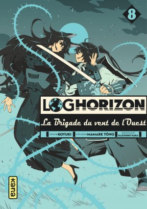 Log Horizon - La brigade du vent de l'Ouest # 8