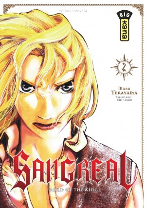 couverture, jaquette Sangreal - Road of the king 2  (kana)