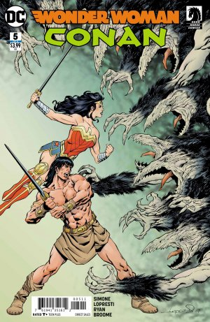 Wonder Woman / Conan # 5 Issues