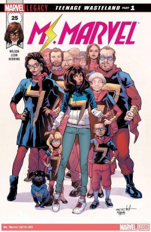 Ms. Marvel # 25 Issues V4 (2015 - 2019)