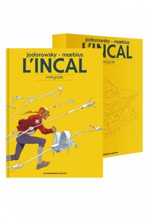 L'incal édition Intégrale sous coffret 2017