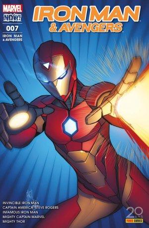 Infamous Iron Man # 7 Kiosque (2017)