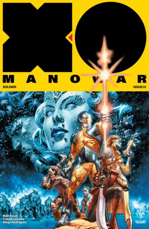 X-O Manowar édition Issues V4 (2017 - Ongoing)