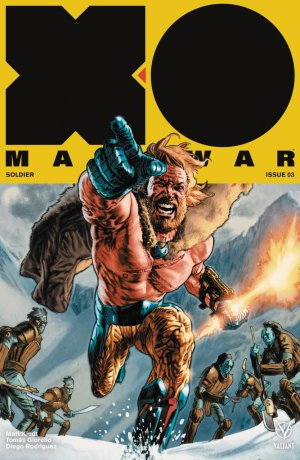X-O Manowar # 3 Issues V4 (2017 - Ongoing)