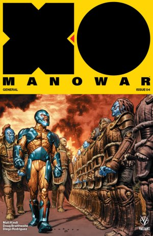 X-O Manowar # 4 Issues V4 (2017 - Ongoing)