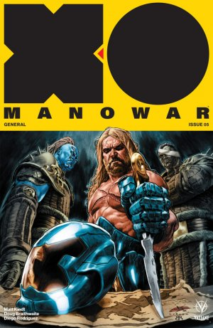 X-O Manowar # 5 Issues V4 (2017 - Ongoing)