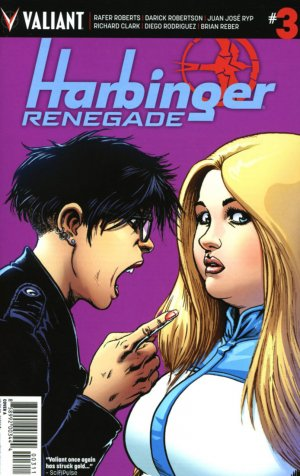 Harbinger Renegade # 3 Issues (2016 - Ongoing)