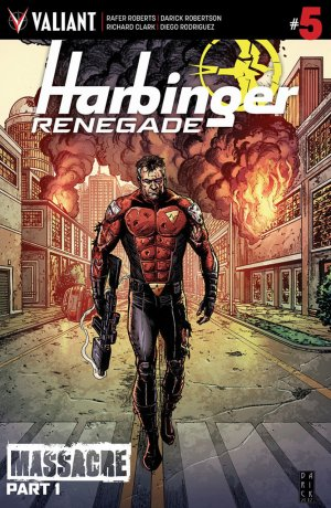 Harbinger Renegade # 5 Issues (2016 - Ongoing)