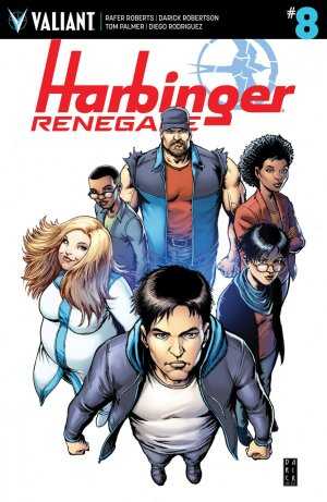 Harbinger Renegade # 8 Issues (2016 - Ongoing)