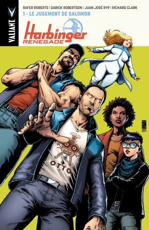Harbinger Renegade édition TPB hardcover (cartonnée)