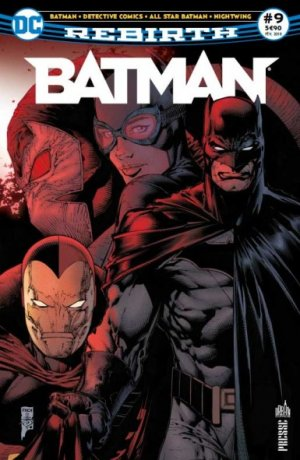 Batman Rebirth # 9