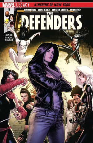 Defenders # 9 Issues V4 (2017 - 2018)