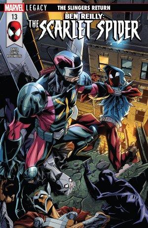 Ben Reilly - Scarlet Spider # 13 Issues (2017 - 2018)