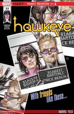 Hawkeye # 13 Issues V5 (2016 - 2018)
