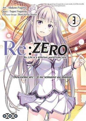 Re:Zero - Re:Life in a different world from zero - Deuxième arc : Une semaine au manoir T.3