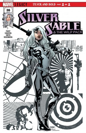 Silver Sable and the Wild Pack édition Issue V2 (2017)
