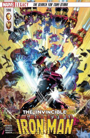 Invincible Iron Man # 596