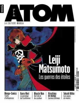 couverture, jaquette Atom 4  (Custom Publishing France)