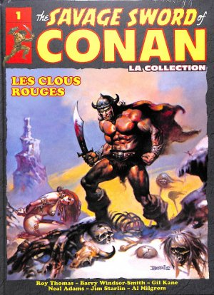 The Savage Sword of Conan # 1